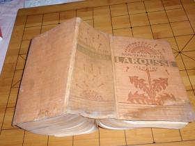 法文原版:拉胡斯字典 LAROUSSE(精装内大量插图)L1