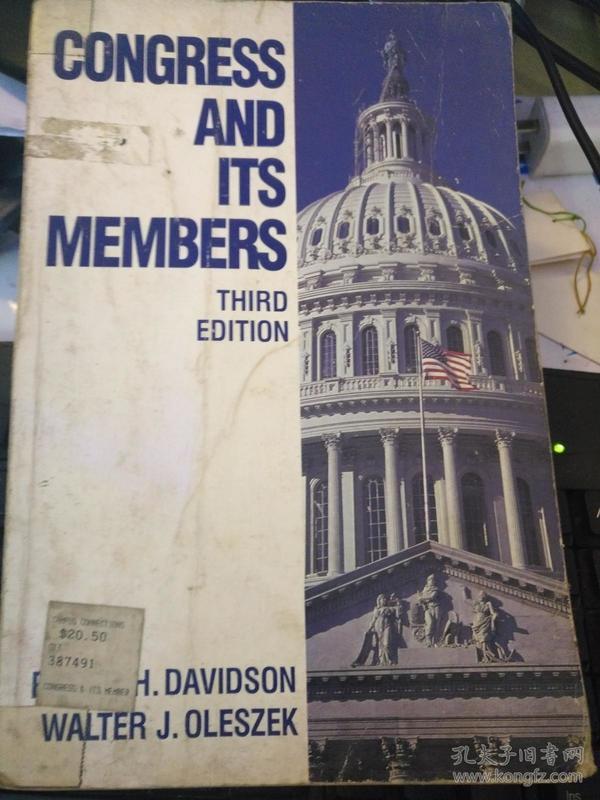 CONGRESS AND ITS MEMBERS(国会和它的成员)