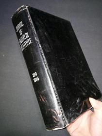 《美国法兰克林研究所报告》刊14一10,220卷。(7号)