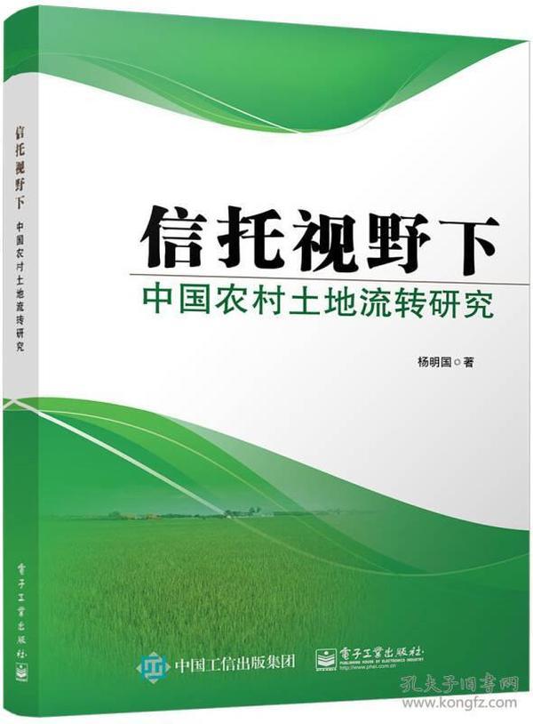 信托视野下中国农村土地流转研究
