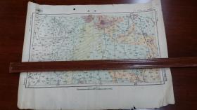 1948年和1933年两张蚌埠地图