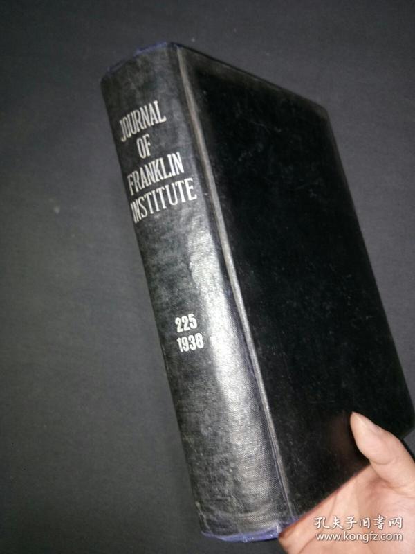 《美国法兰克林研究所报告》刊14一15,225卷。(7号)