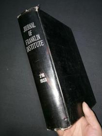 精装外文版《美国法兰克林研究所报告》刊14一6,216卷。(7号书架)
