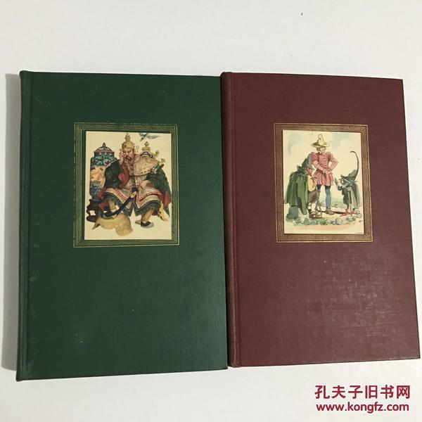 1946年函套精装《安徒生童话/格林童话》Grimms & Andersens Fairy Tales 俱乐部典藏版