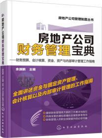 房地产公司财务管理宝典:财务预算、会计核算、资金、资产与内部审计管理工作指南