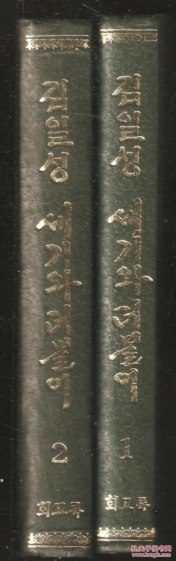 김일성세기와 더불어(朝鲜文原版书)