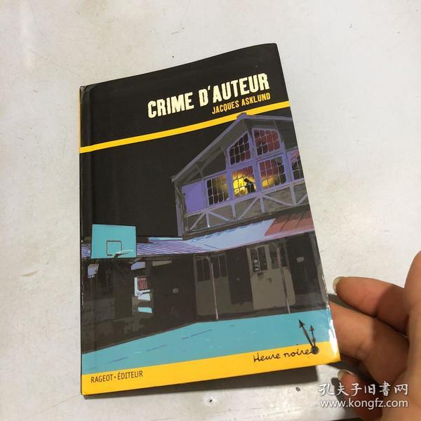 CRIME D'AUTEUR