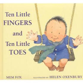 Ten Little Fingers and Ten Little Toes [Board book]10个小手指和10个小脚趾ISBN9780547366203