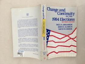 Change and Continuity IN THE 1984 Elections 1984次选举的变化和连续性