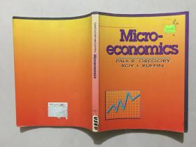 Micro economics PAUL R.GREGORY ROY J.RUFFIN