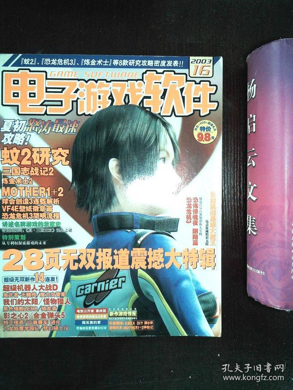 电子游戏软件 2003 16