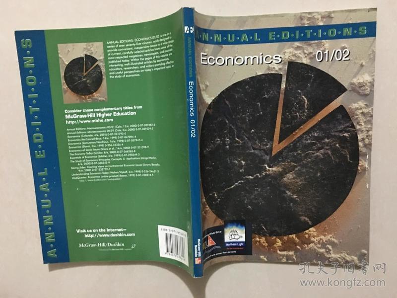 ANNUAL EDITIONS Economics 01/02