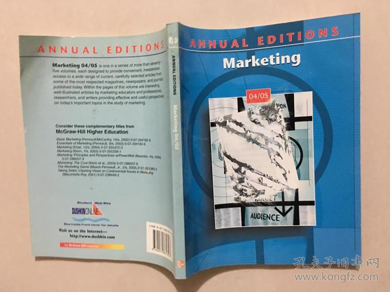 ANNUAL EDITIONS Marketing 04/05