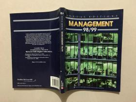 ANNUAL EDITIONS MANAGEMENT 98/99