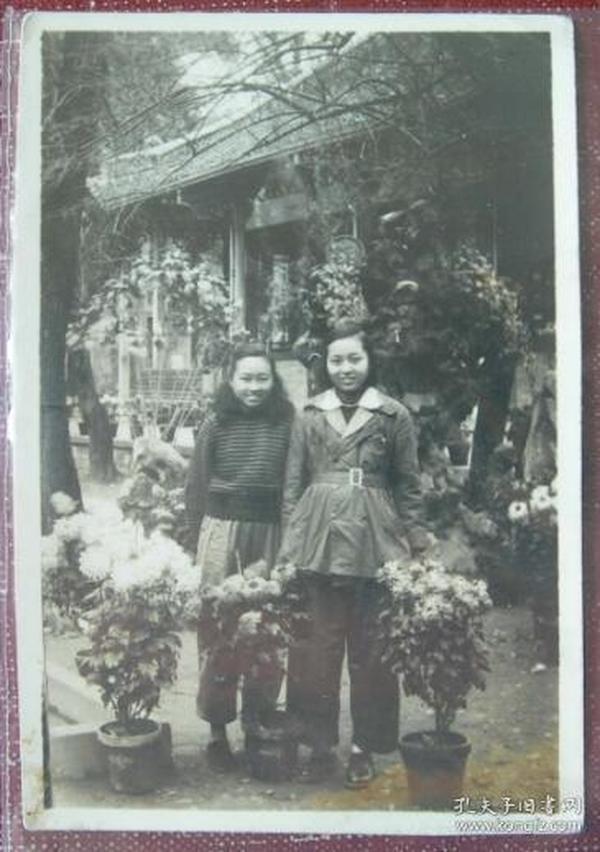 老照片:解放之初,美女——非常漂亮【陌上花开系列】