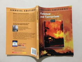 ANNUAL EDITIONS Violence and Terrorism 03/04