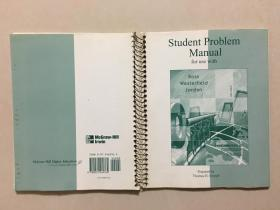Student Problem Manual for use with Ross westerfield Jordan