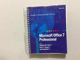 Microsoft Office 7 Professional witb Windows 95,Word 7,Excel 7,Access 7,and Powerpoint 7