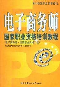 正版送书签hi~电子商务师国家职业资格培训教程:电子商务师国家