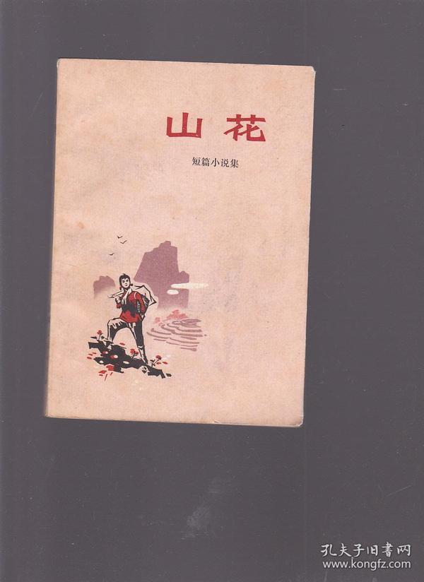 山花 短篇小说集 【有黄斑】