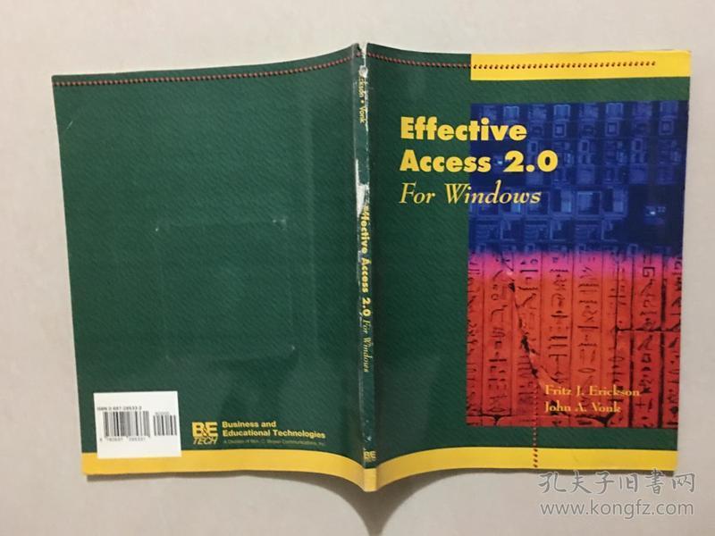 Effective Access 2.0 For Windows【馆藏】