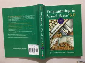 Programming in Visual Basic? 6.0 update Edition 【馆藏】附盘