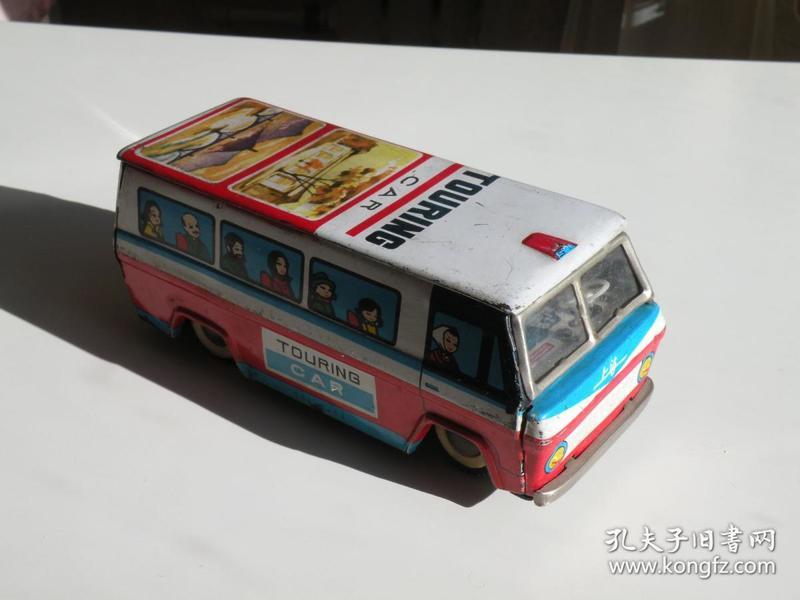 670年代铁皮玩具上海公交车