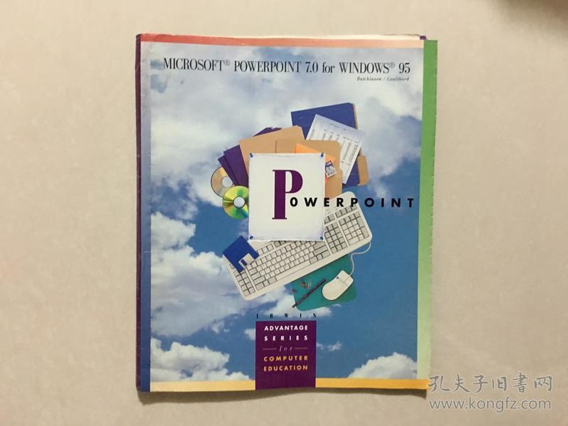 MICROSOFT POWERPOINT 7.0 for WINDOWS 95
