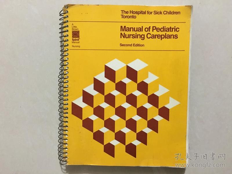 Manual of Pediatric Nursing Careplans