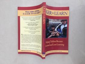 EAGER TO LEARN Helping Children Become Motivated and Love Learning渴望学习帮助孩子变得积极和热爱学习