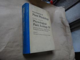 encyclopedia of plant physiology植物生理生态学4(生态系统过程 矿质循环生产产力和对人类的影响)  大32开精装