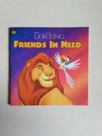 the lion king  FRIENDS IN NEED