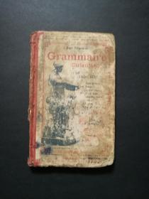 grammaire enfantine(品差,陈定民先生签名藏书,有钤印,内有字迹写划)