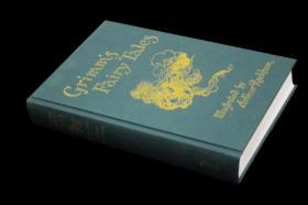 格林童话 插图版 Grimms Fairy Tales(Arthur Rackham插图)精装大本
