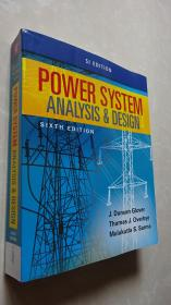 正版 Power System Analysis and Design,6 SI Edition  第六版