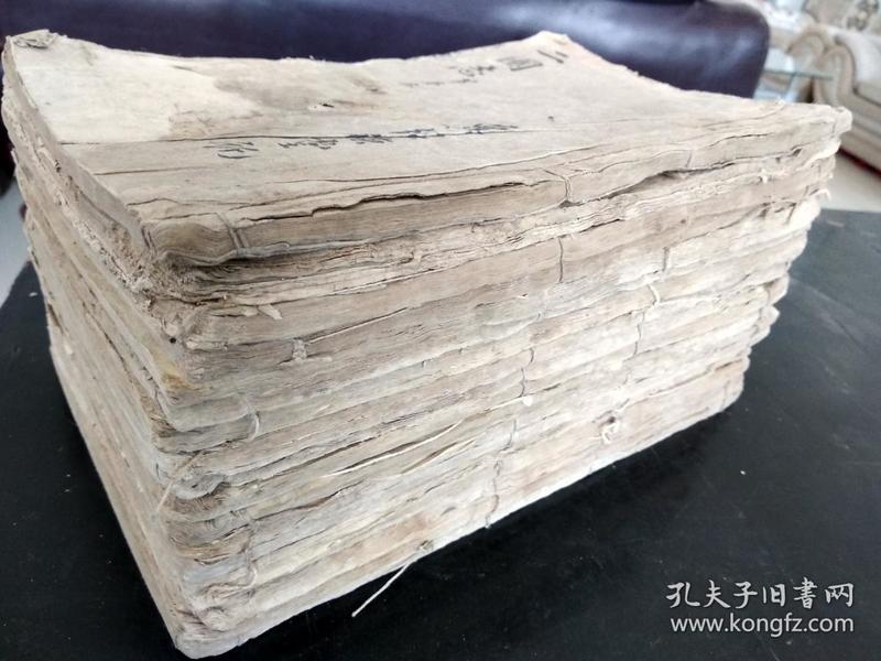 低价出售顺治序大开本木刻《绣像金圣叹批评三国志》19卷120回19册全!版画多,稀见版本!!