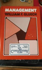 MANAGEMENT.WILLIAMF.GLUECK   管理学家格鲁克