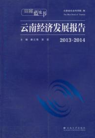 云南蓝皮书:2013~2014云南经济发展报告