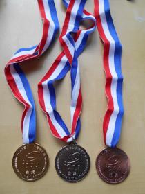 【ICAA国际少儿书画大赛奖牌】金,银,铜奖牌