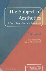 The Subject Of Aesthetics (consciousness  Literature And The Arts)