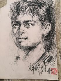 陈子贵素描354