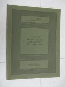 Sothebys  Catalogue of Oriental Rugs and Carpets and Tapestries(苏富比地毯,挂毯目录)