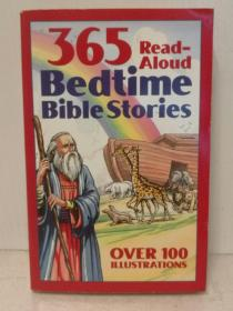 Bedtime Bible Story Book : 365 Read-aloud Stories from the Bible Over 100 Illustrations 英文原版书