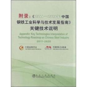 附录:《2011-2020年中国钢铁工业科学与技术发展指南》关键技术说明