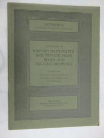 Sothebys Catalogue of English Illustrated and Private Press Books and Related Drawings(苏富比英文插图和私人出版书籍及相关图纸目录)