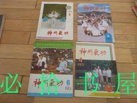 神州气功 1991年 2期 4-6期  四册合售