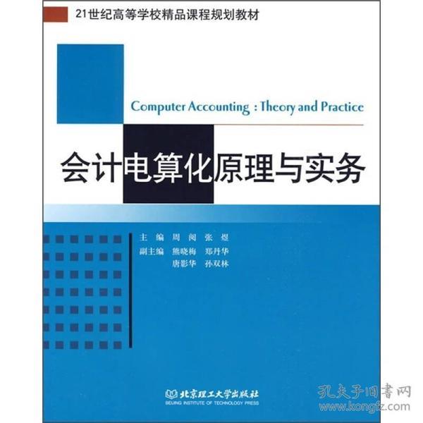 【正版未翻阅】会计电算化原理与实务