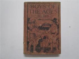 民国32开精装版 BOYS OF THE AGES THEIR DREAMS AND THEIR CRAFTS (古往今来的男孩们的梦想和手艺)