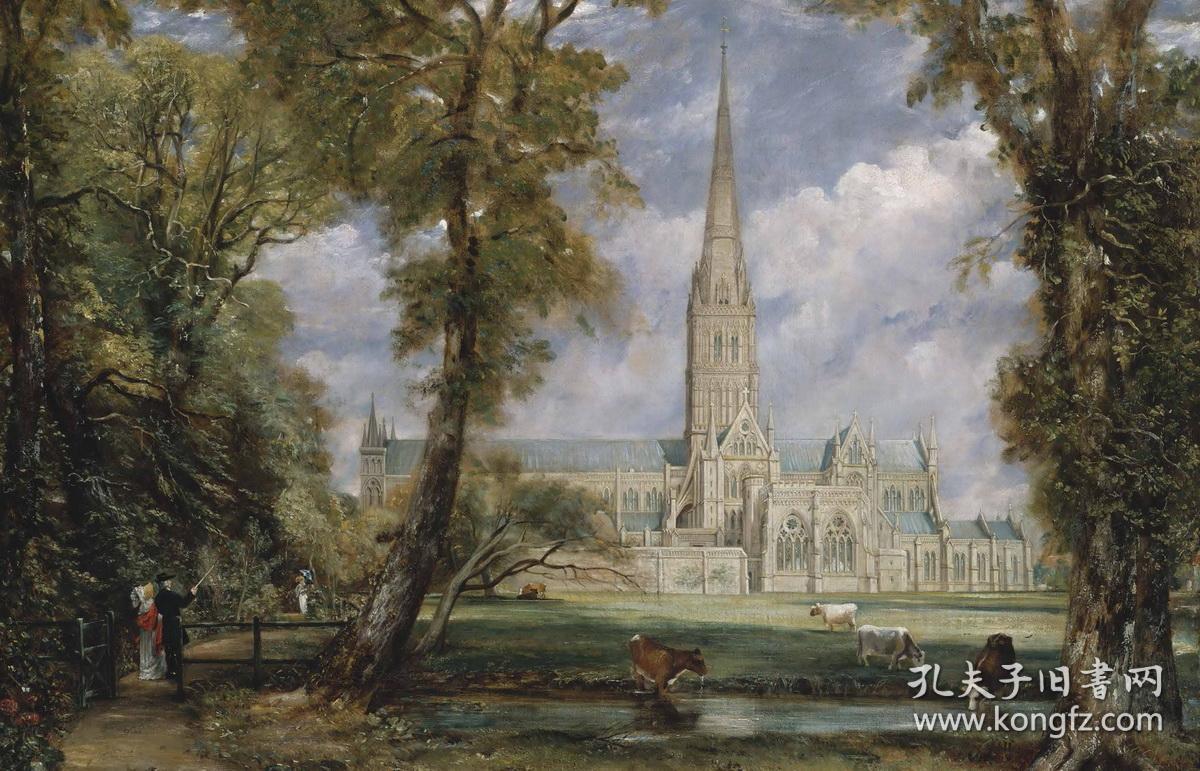 英国风景画大师 风景油画书 西方风景画大师作品精选