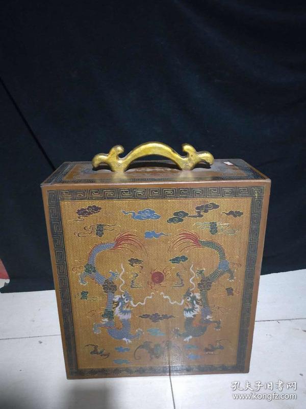 漆器画卷柜,重量约7.65公斤。代理可以转图加价,运费自理。